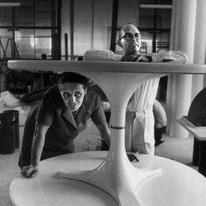 Giulio Castelli e Anna Castelli Ferrieri, 1961 - Kartell founders