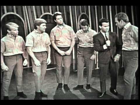 Dick Clark Interviews The Beach Boys - American Bandstand 1964