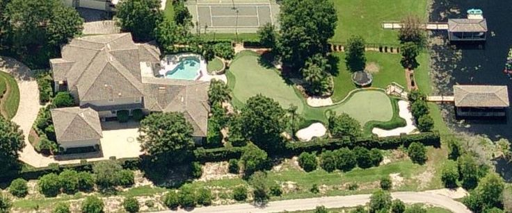 Justin timberlake 39 s house in orlando florida former for Celebrity homes in florida