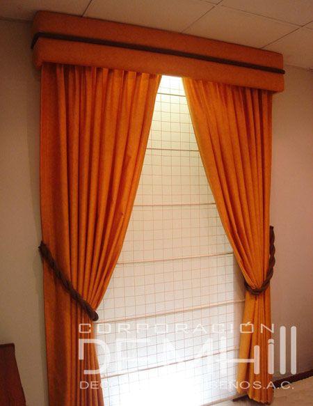 15 pines de cenefas para cortinas que no te puedes perder for Modelos de cortinas de tela