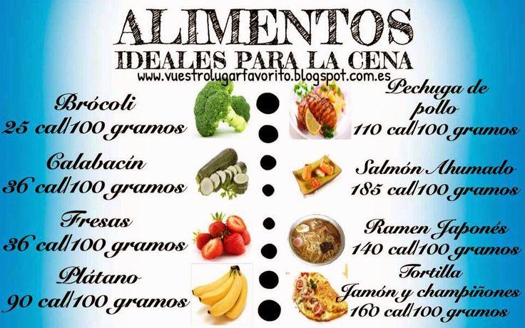 Qu alimentos son ideales para la cena comida - Ideas para una cena saludable ...