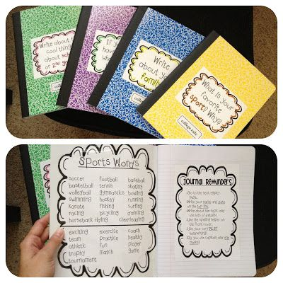 Whole class journals adapted to math by creating a journal per unit and allowing groups to be responsible for the content in the math task writing station of my classroom.