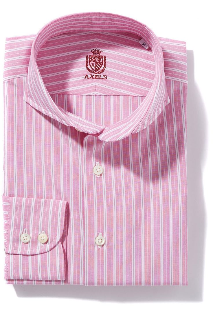 Axel's New York Stripes in Pink - Mens - Shirts - AXEL'S