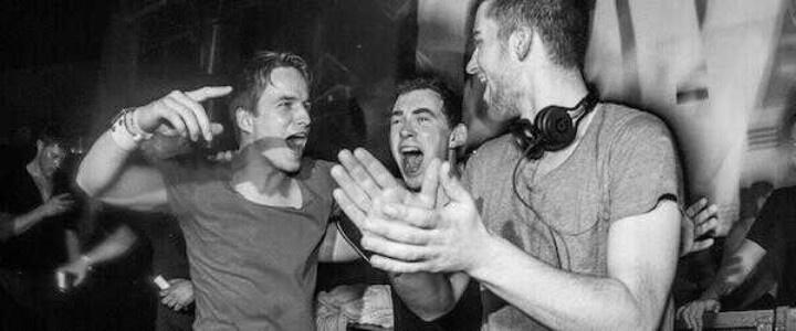 HARDWELL, DANNIC AND DYRO ROCKING IT #REVEALEDFAMILY