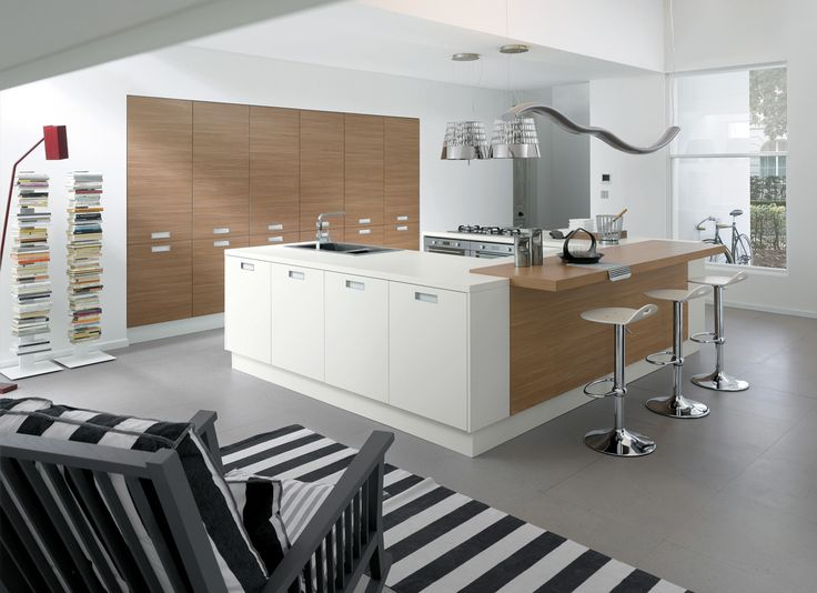 05 Contemporary kitchen VENUS by Zecchinon | Archisesto Chicago |