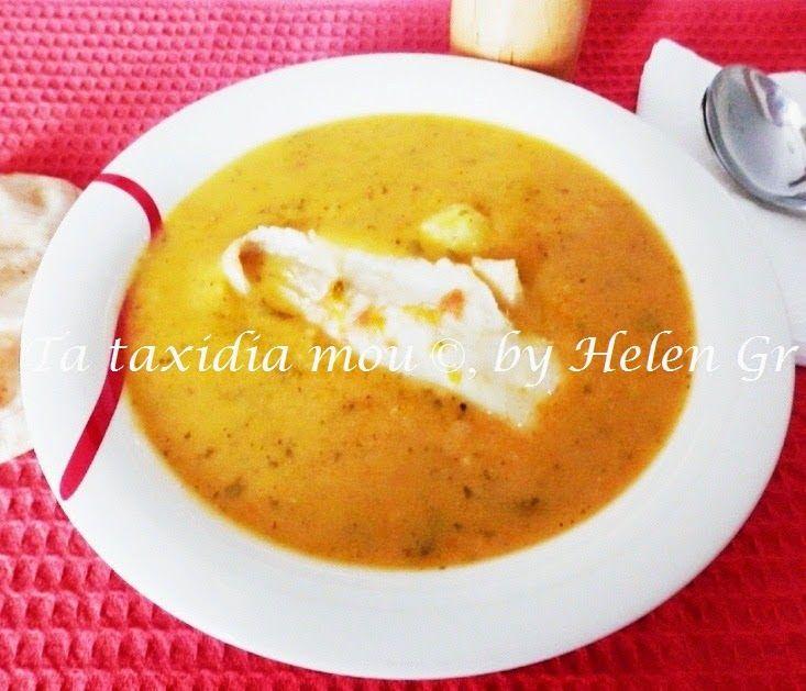 Τα ταξίδια μου : Ψαρόσουπα Βελουτέ – A Creamy Fish Soup