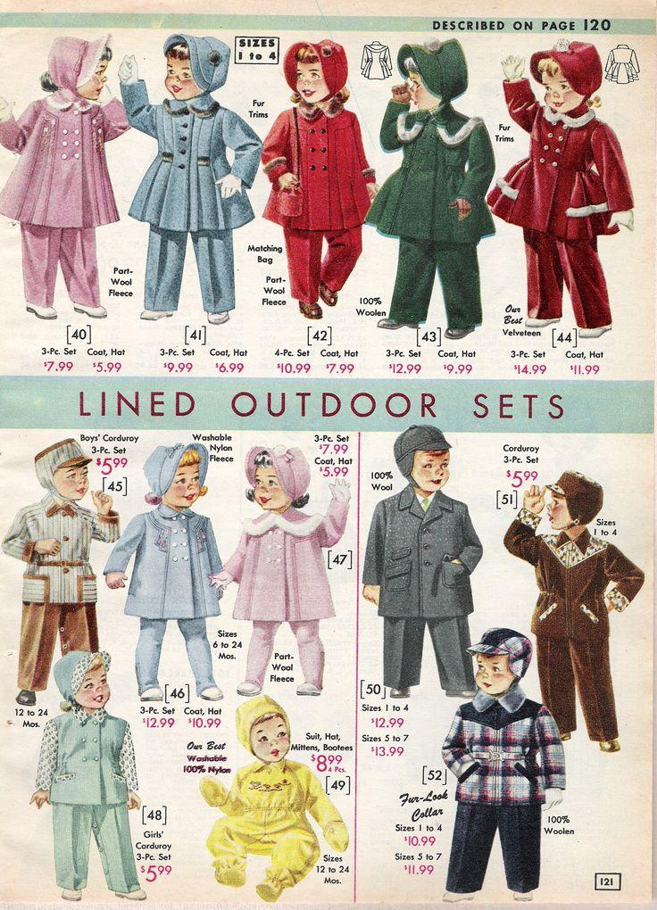 Vintage Style Children S Clothing Girls Boys Baby