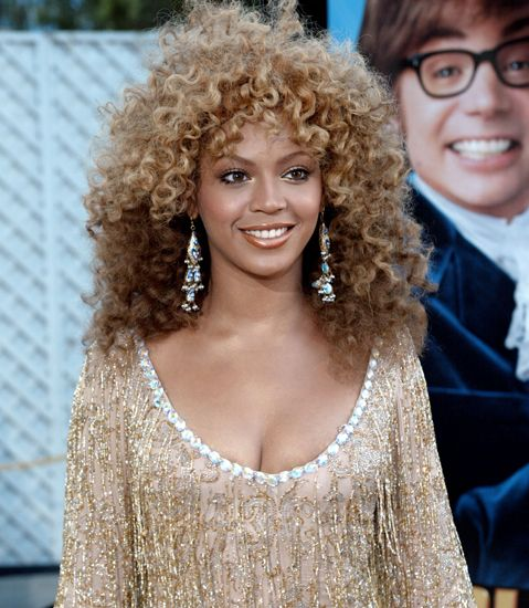 Beyoncé at the Premiere of Austin Powers in Goldmember 2002