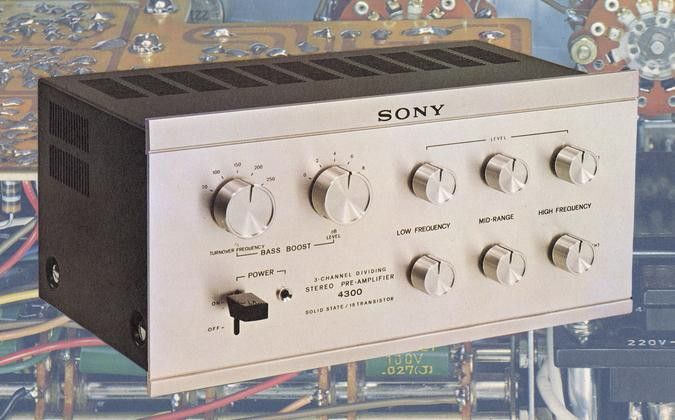 SONY TA-4300 (launched 1966)
