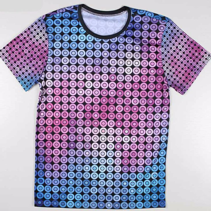 Item Type: Tops Tops Type: Tees Pattern Type: Print Sleeve Style: Regular Style: Casual Material: Polyester, Spandex Collar: O-Neck Sleeve Length: Short 14 Day Hassle Free return policy - Allow 2 to 3