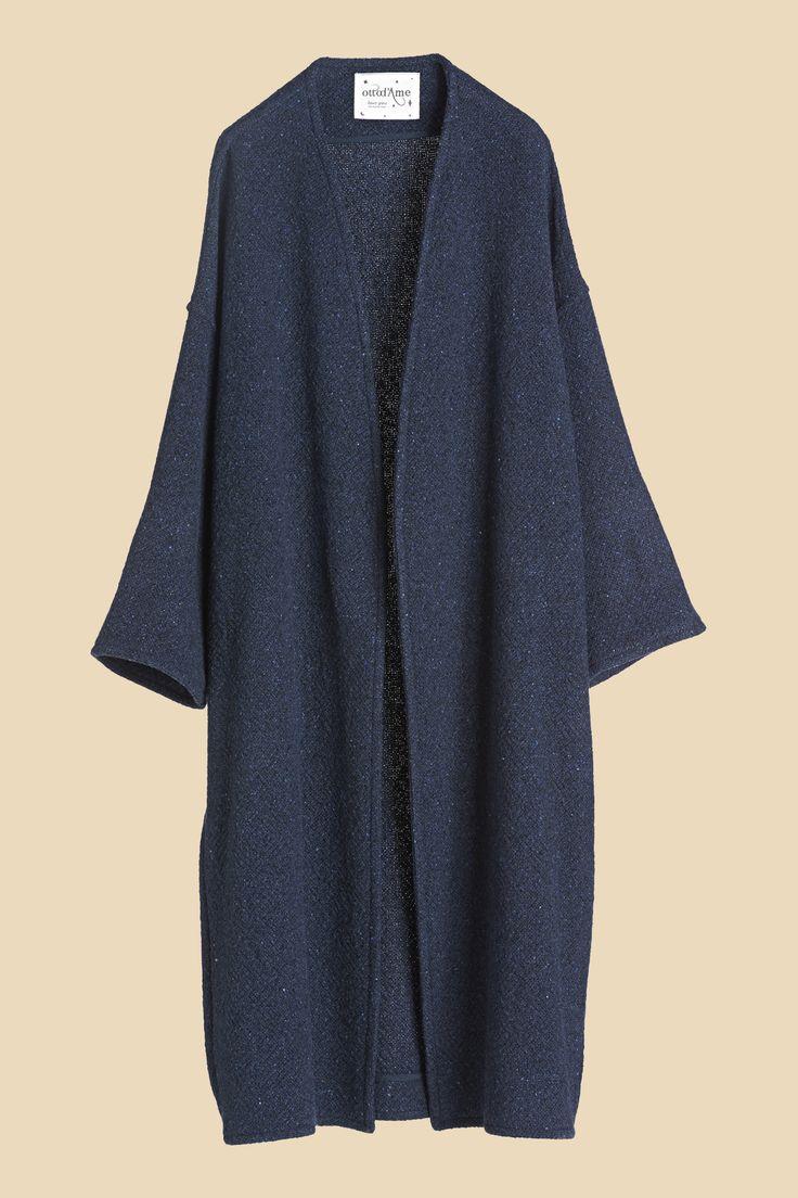 Giacca lunga in misto lana 245,00 ottodamr