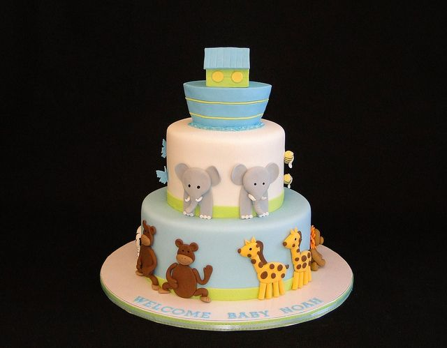 Best 25 noahs ark cake ideas on pinterest cake recipe for Noah s ark decorations