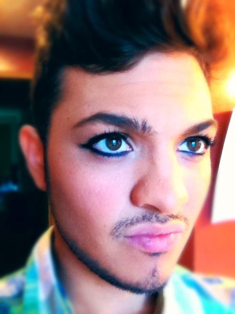 Aladdin makeup!Aladdin Yall, Aladdin Makeup, Aladdin Jr