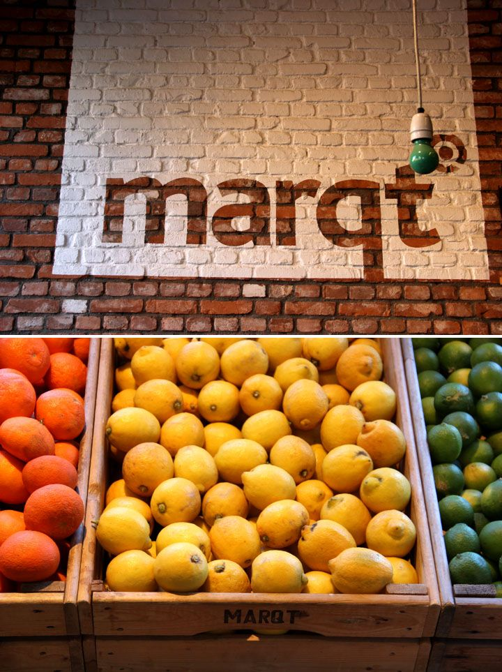 """""""If you love food you have to shop your groceries at Marqt (Overtoom or Rembrandtplein) at least once during your visit. It's not only a 100% organic supermarket, it is also a very stylish one with an inviting atmosphere. We love this supermarket dearly since the day it came to brighten up our town."""" #greetingsfromnl"""