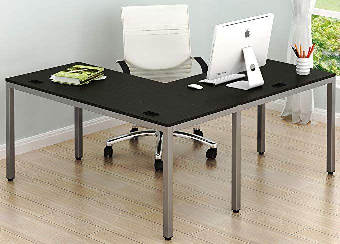 Shw Home Office 55 Quot X60 Quot Large L Shaped Corner Desk