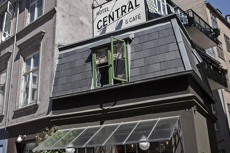 Самый маленький отель в мире #Copenhagen