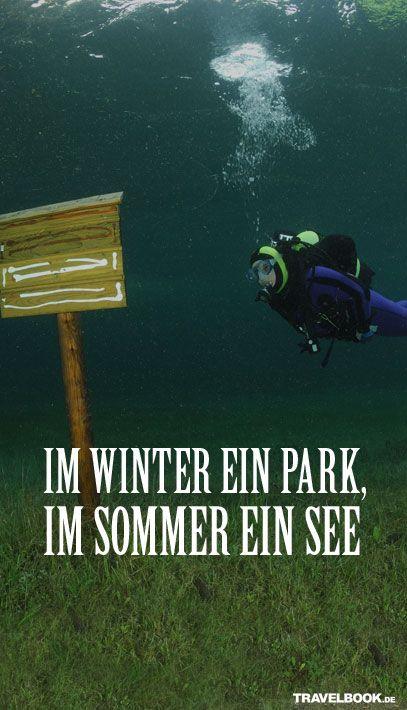 Dieser See ist im Winter ein Park #Steiermark