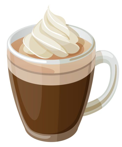 Coffee with Cream PNG Clipart Picture