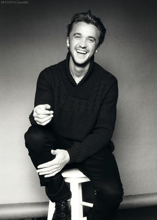 Tom Felton is my latest addition to the Novel, he is Sydney's unlucky husband.