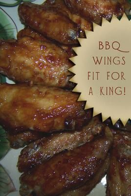 BBQ Chicken Wings. I, too, love my Nuwave oven. I've had it about 6 months and truly enjoy cooking with it. My time has been spent successfully reworking our life-long recipes