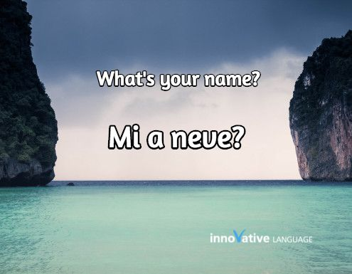 """""""What's your name?"""" 