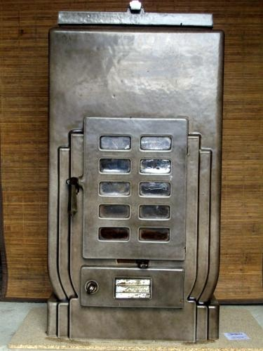 I have a thing for French Art Deco stoves.  This is a Faure Revin.  Copyright 2008 : Hollier French Stoves Direct