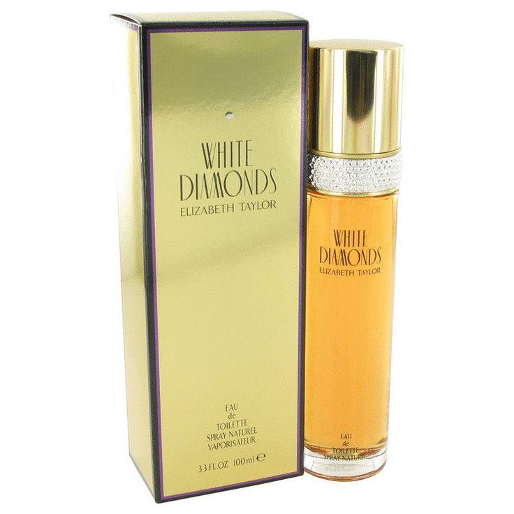 White Diamonds Perfume by Elizabeth Taylor 3.3 oz Eau De Toilette Spray Floral #ElizabethTaylor