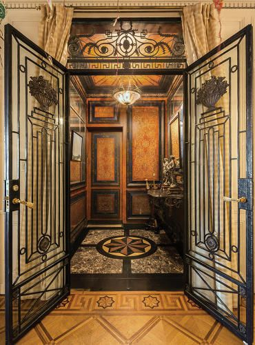 3 | 9 Luxe Prewar Apartments: How Manhattan's 1% Lives | Co.Design | business + design 1020 FIFTH AVENUE This building sits across from the Metropolitan Museum of Art.