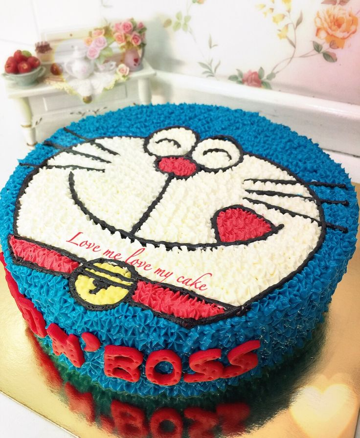 Doraemon Birthday Cake Photos