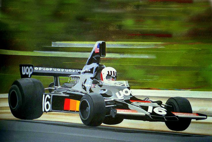 Tom Pryce Painting by Steve Jones