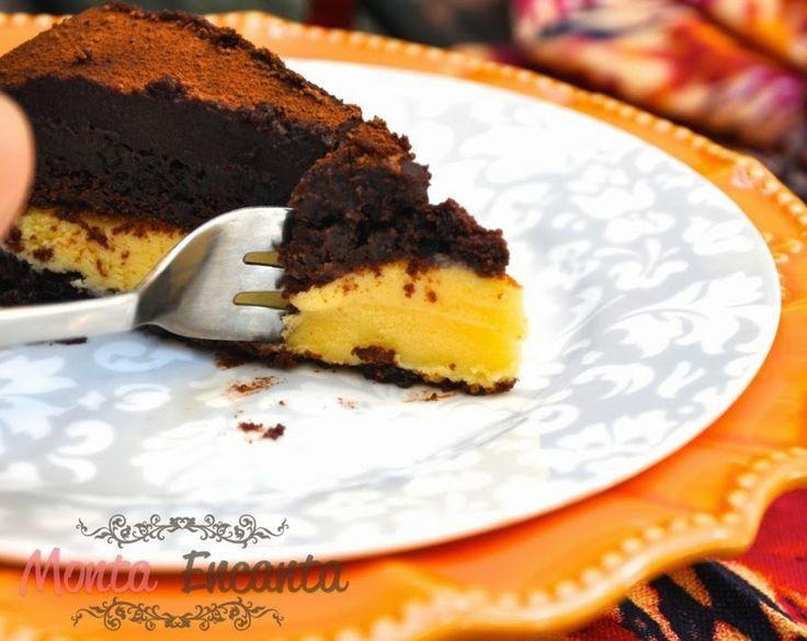 Bolo de chocolate trufado de maracujá – Quem resiste a um pedaço de bolo de chocolate trufado de maracujá? E se ele for pelado, molhado, quase um brownie e ainda coberto por um cremoso gan…