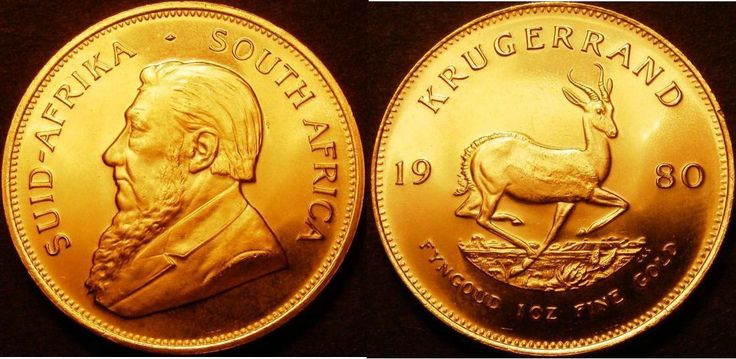 1980 One Krugerrand Gold Ounce Coin Certified as Finest Known by CGS Graded 88