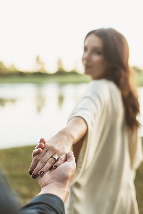 Follow me engagement photos!    See more: http://www.midsouthbride.com/garner-hunters-engagement/  Photo: Katie Norrid Photography