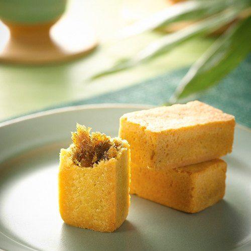 Petty gift - pineapple cake group (six of six buried pineapple cake + tea) Tea Gift] [HERDOR