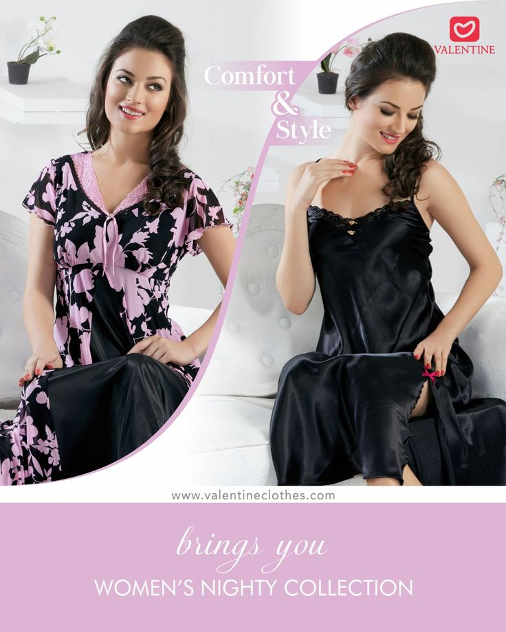 Make your mornings cheerful with amazing patterns and colourful designs. Choose from a large selection of Nighty options from Valentine. Shop at https://valentineclothes.com/women/nighties.html to liven up your mornings. #nighty #fancynighty #Nightwear #offers #discounts #valentine #valentineclothes #madewithlove #happyshopping