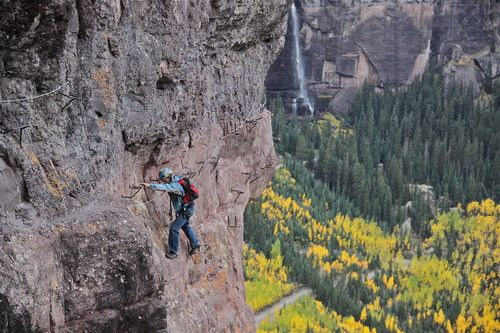 Telluride Colorado's Via Ferrata!