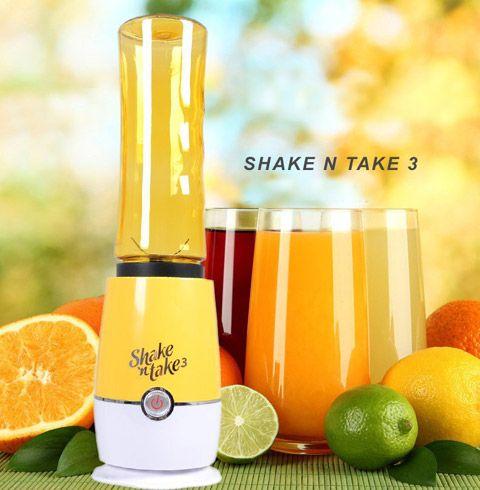 برای تهیه یک نوشیندنی تک نفره و یا تهیه میکس پورد بدنسازی با میوه جات میتوانید از مخلوط کن تک نفره Shake Take استفاده کنید کم حجم بودن و کارایی بالای این محصول سبب شده تا مورد استقبال مردم قرار بگیره دارای یک درب clip on و یک بطری که ۸۰۰ ml درجه بندی شده […]