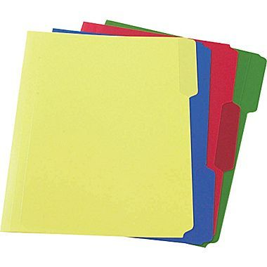 Staples heavyweight poly file folders letter assorted 24 box craft spaces pinterest - Staples productos de oficina ...