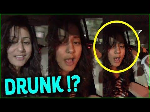 Hina Khan With Boyfriend Rocky Jaiswal Singing Binte Dil Song In Car
