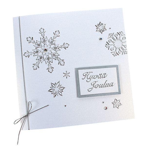 Lumenvalkoinen helmiäinen ja hopea ovat aina tyylikkäitä yhdessä!