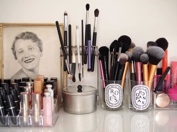Easy Gorgeous Ways To Display Your Makeup | Lovelyish