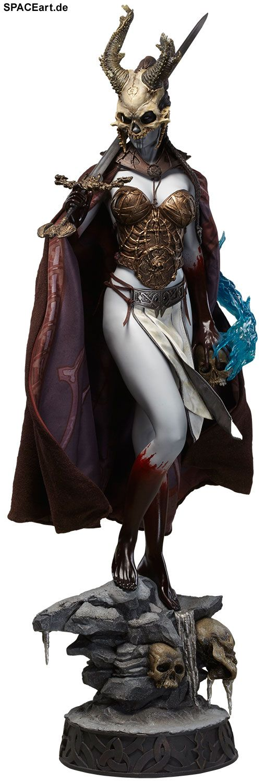Court of the Dead: Kier - Valkyrie of the Dead, Statue / Premium Format Figur ... https://spaceart.de/produkte/cod003.php