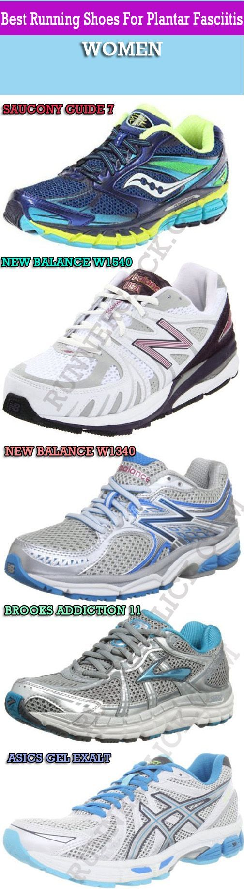 5 Best Running Shoes For Plantar Fasciitis – Women                                                                                                                                                      More