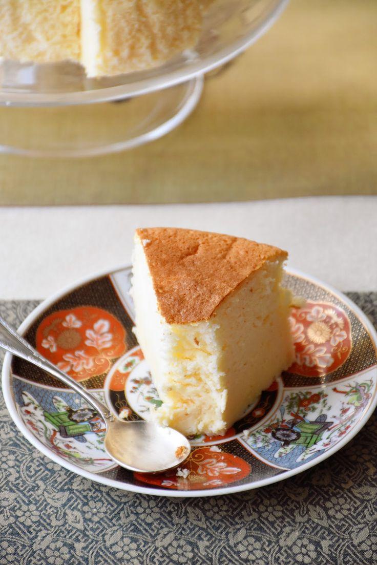 Tarta de queso japonesa.