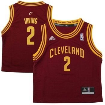 Every new parents wants their child to be successful. Why not dress them in the Cleveland Cavaliers #1 Overall NBA Draft Pick Kyrie Irving Replica Jersey to inspire them young!