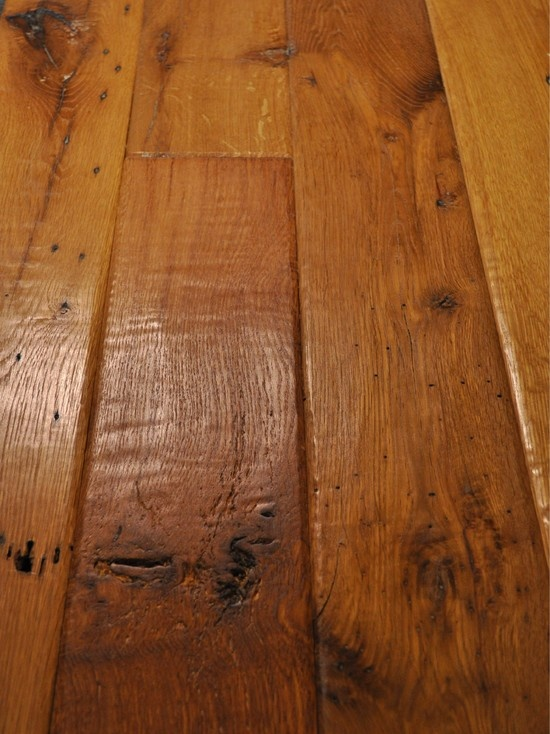 Floor Ridgefield Hand Scraped Sculpted Hardwood Floors