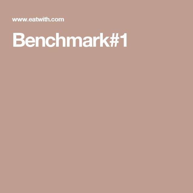 Benchmark#1