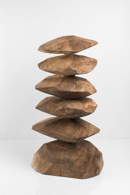 David Nash, 'Elm column', 2016, Galerie Lelong | Artsy