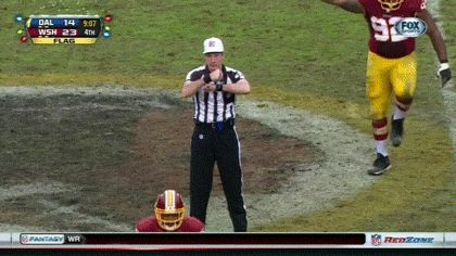 This Redskins Lineman Knows Exactly Who The Penalty Is On | The Best GIFs Of NFL Week 16: Blues Brothers