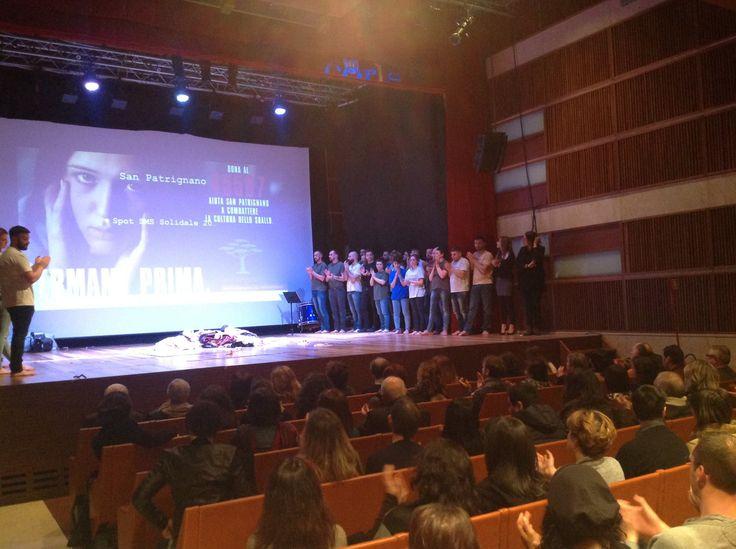 """Lo spot """"Fermami prima"""",  in occasione dello spettacolo della nostra Compagnia Teatrale """"Francesco Povero"""", sul palco del Teatro CorTe Coriano. #fermamiprima"""